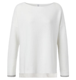 Yaya Yaya Basic Cotton Boatneck Sweater