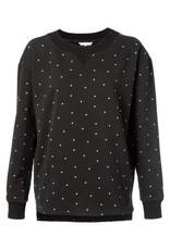 Yaya Yaya Allover Print Sweater