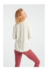 Yaya Yaya Fine Knit Sweater Stripe Detail