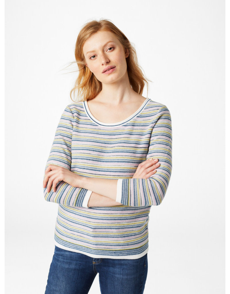 White Stuff White Stuff Misty Lake Stripe Jumper
