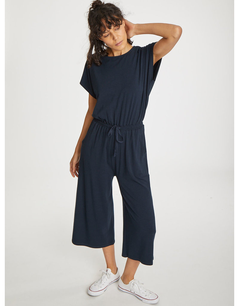 Thought Thought Brigitta Jumpsuit Midnight Navy