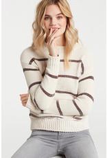 Yaya Yaya Chenille Stripe Sweater