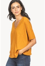 Lilla P Lilla P Easy Double V-Neck