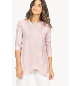 Lilla P Lilla P Crossed Front Boatneck Tee