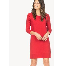 Lilla P Lilla P Cutout Back Raglan Dress