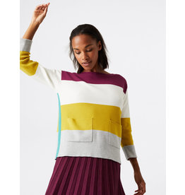White Stuff White Stuff Orchard Block Colourblock Jumper