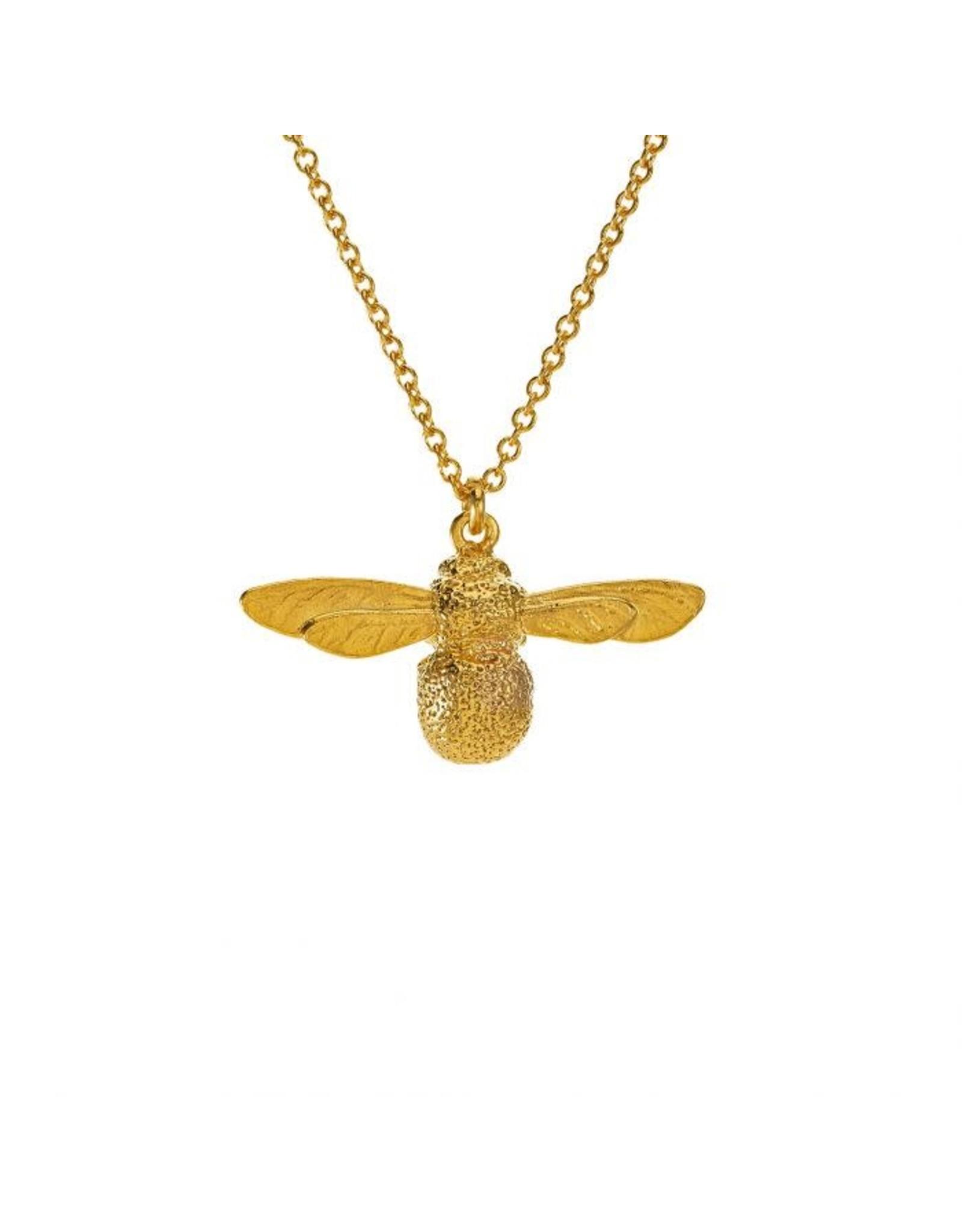Alex Monroe Alex Monroe Gold Baby Bee Necklace
