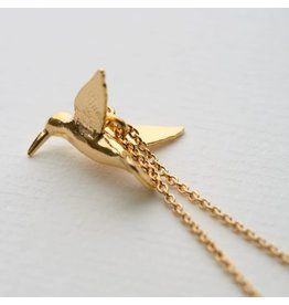 Alex Monroe Alex Monroe Hummingbird Necklace