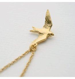 Alex Monroe Alex Monroe Flying Swallow Necklace