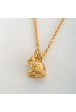 Alex Monroe Alex Monroe Sitting Bunny Necklace
