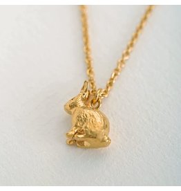 Alex Monroe Alex Monroe Sitting Bunny Necklace
