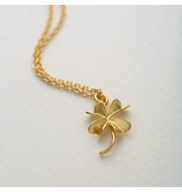 Alex Monroe Alex Monroe Baby Lucky Clover Necklace