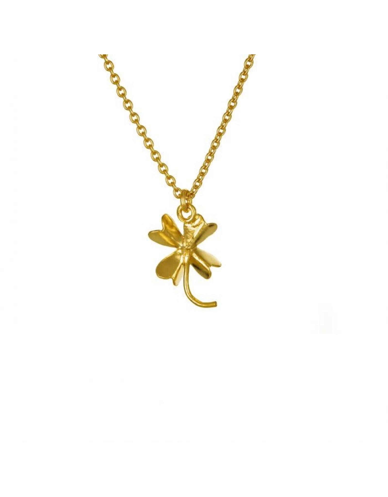 Alex Monroe Alex Monroe Baby Lucky Clover Necklace