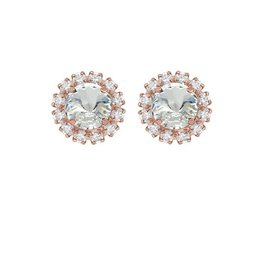 Rebekah Price Rebekah Price Crystal Mini Studs with Strass Rose Gold