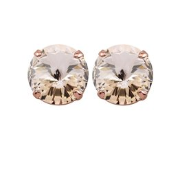 Rebekah Price Rebekah Price Rivoli Stud Earrings on Rose