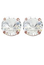Rebekah Price Rebekah Price Rivoli Stud Earrings on Rose