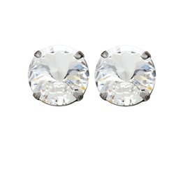 Rebekah Price Rebekah Price Rivoli Silver Stud Earrings