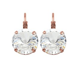 Rebekah Price Rebekah Price Rivoli Rose Gold Drop Earring
