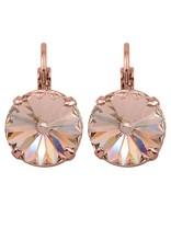 Rebekah Price Rebekah Price Rivoli Rose Gold Drop Earring