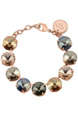 Rebekah Price Rebekah Price Rose Gold Rivoli Bracelet