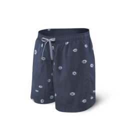 Saxx Saxx Cannonball 2N1 Short - Navy Tie Dye Dot