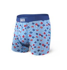 Saxx Saxx Vibe Boxer Brief - Blue Ping Pong