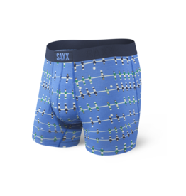 Saxx Saxx Ultra Boxer Brief Fly - Blue Foosball
