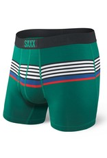 Saxx Saxx Ultra Boxer Brief Fly - Green Regatta Stripe