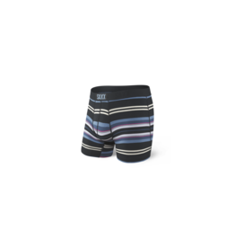 Saxx Saxx Vibe Boxer Brief - Black Tartan Stripe