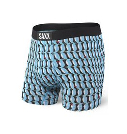 Saxx Saxx Ultra Boxer Brief Fly - Blue Penguins