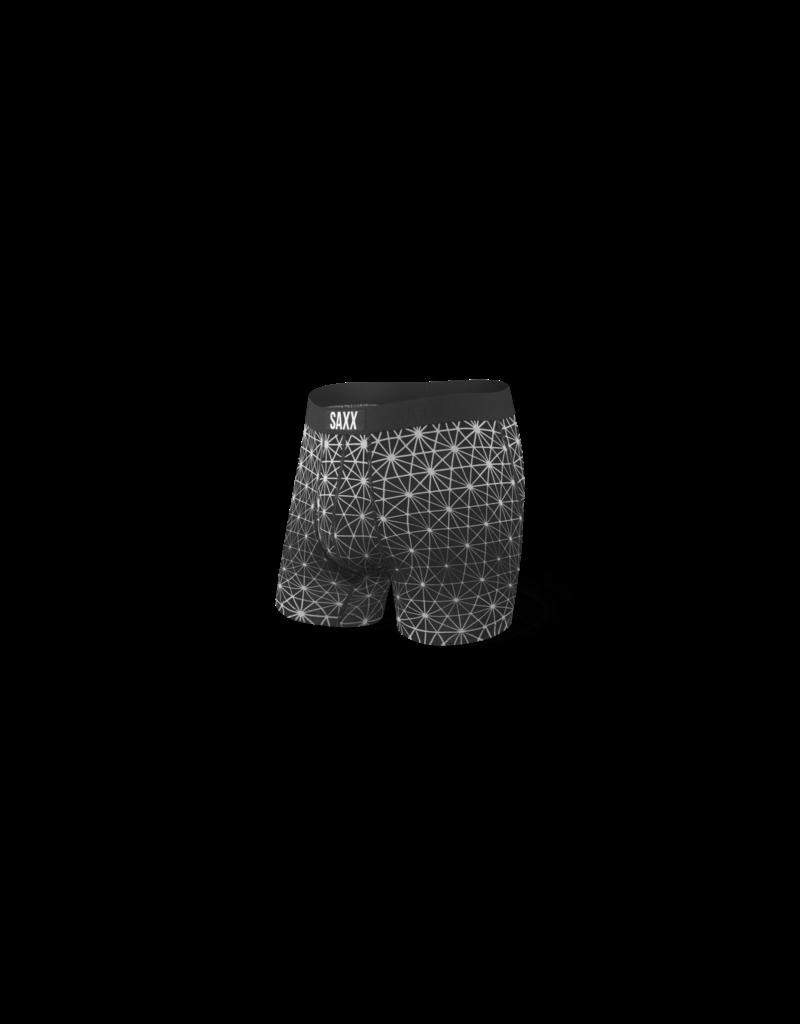 Saxx Saxx Ultra Boxer Brief Fly - Black Geo Ice