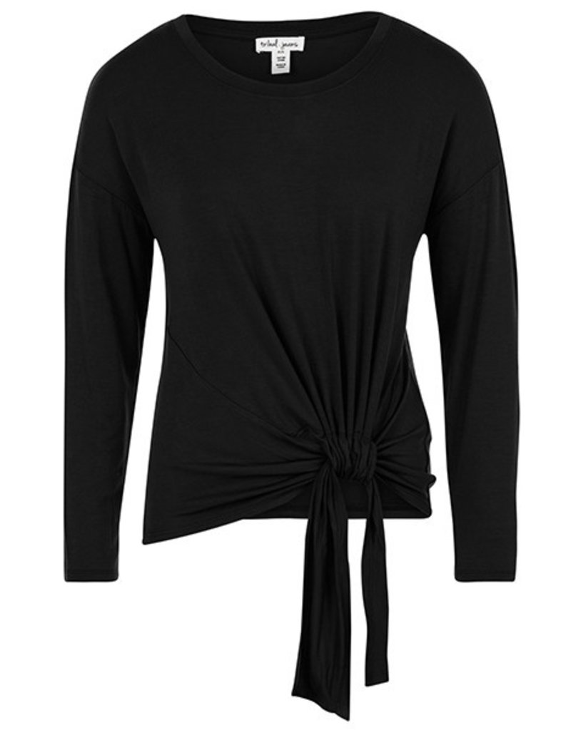 Tribal Tribal LS Top with Adjustable Knot