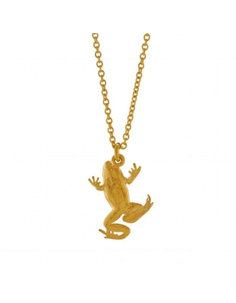 Alex Monroe Alex Monroe Frog Necklace