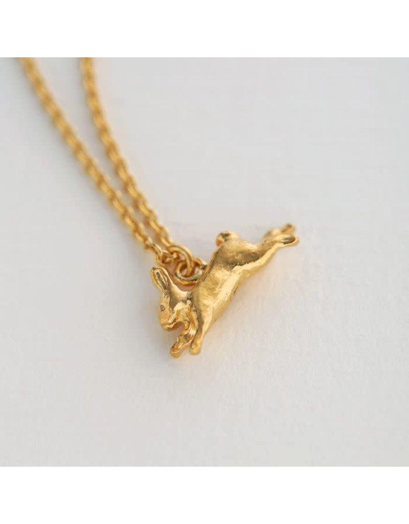 Alex Monroe Alex Monroe Leaping Rabbit Necklace