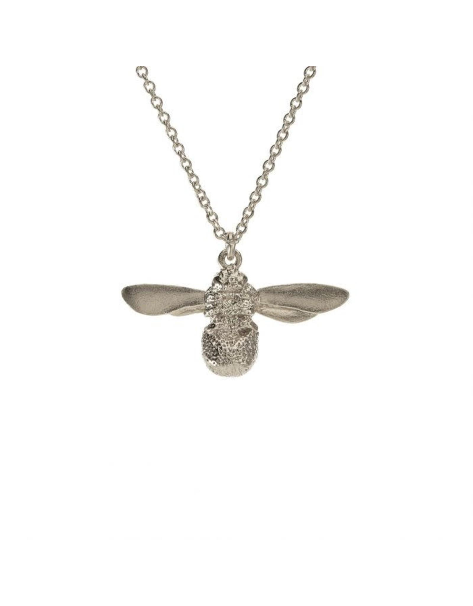 Alex Monroe Alex Monroe Silver Baby Bee Necklace