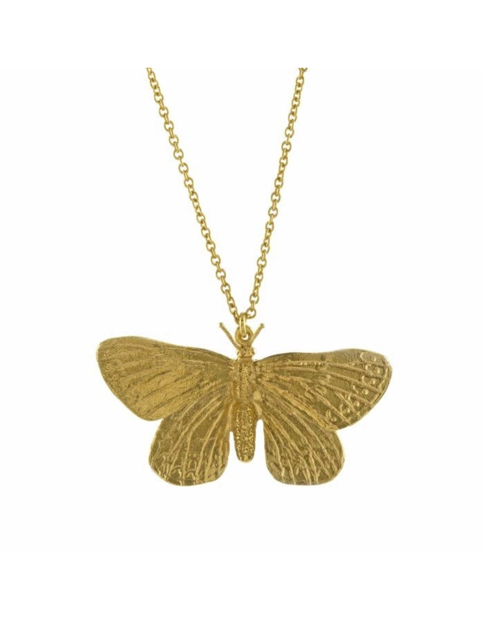 Alex Monroe Alex Monroe Duke of Burgundy Butterfly Necklace