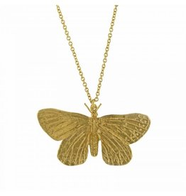 Alex Monroe Alex Monroe Duke of Burgundy Butterfly Necklace