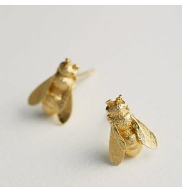 Alex Monroe Alex Monroe Honeybee Stud Earrings