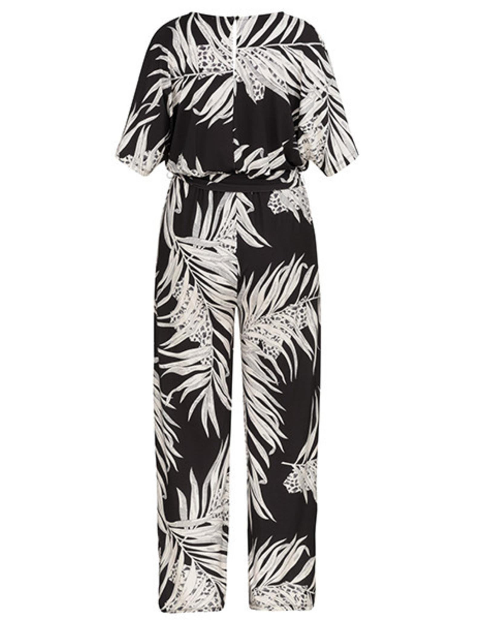 Tribal Tribal Dolman Sleeve Jumpsuit - SMALL