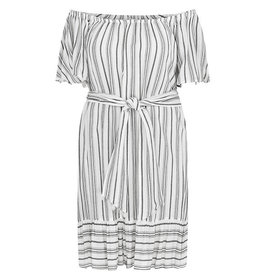 Tribal Tribal On and Off Shoulder Dress - XL ONLY