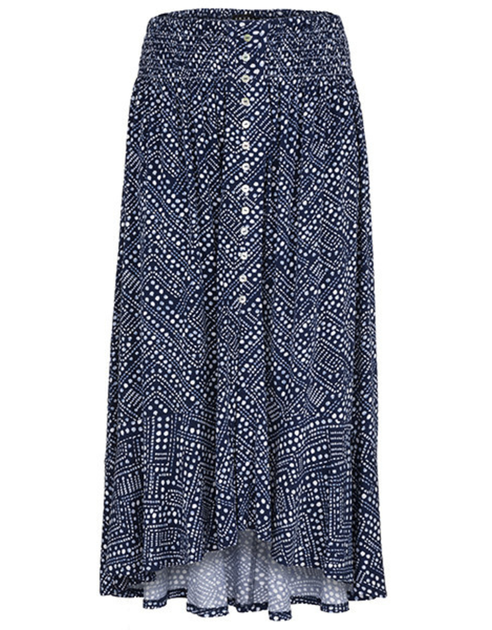 Tribal Tribal Pull On Skirt with Smocking