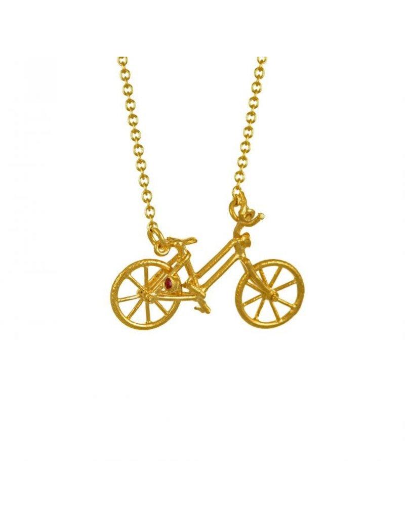Alex Monroe Alex Monroe Vintage Bicycle Necklace