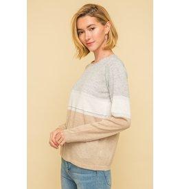 Mystree Stripe Sweater