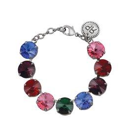 Rebekah Price Rebekah Price Silver Dena Rivoli Bracelet