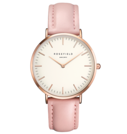 Rosefield Rosefield Bowery - 38mm Blush Leather Rose Gold Watch