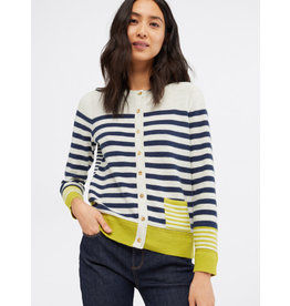 White Stuff White Stuff Sketch Stripe Cardi