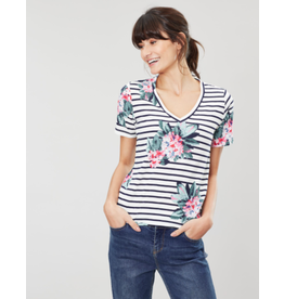 Joules Joules Celina Print Tee - SIZE 14