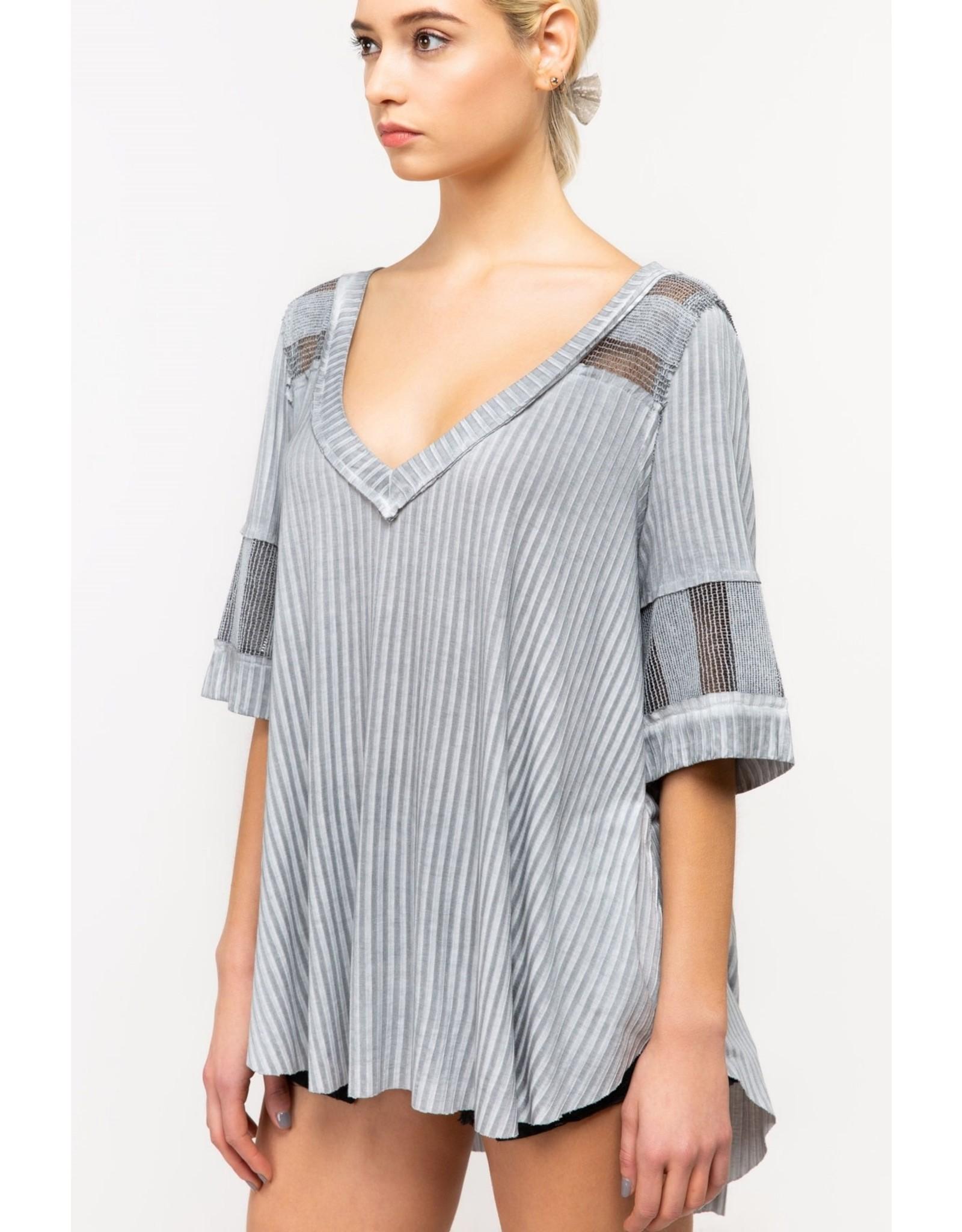 Pol Half Sleeve Tunic