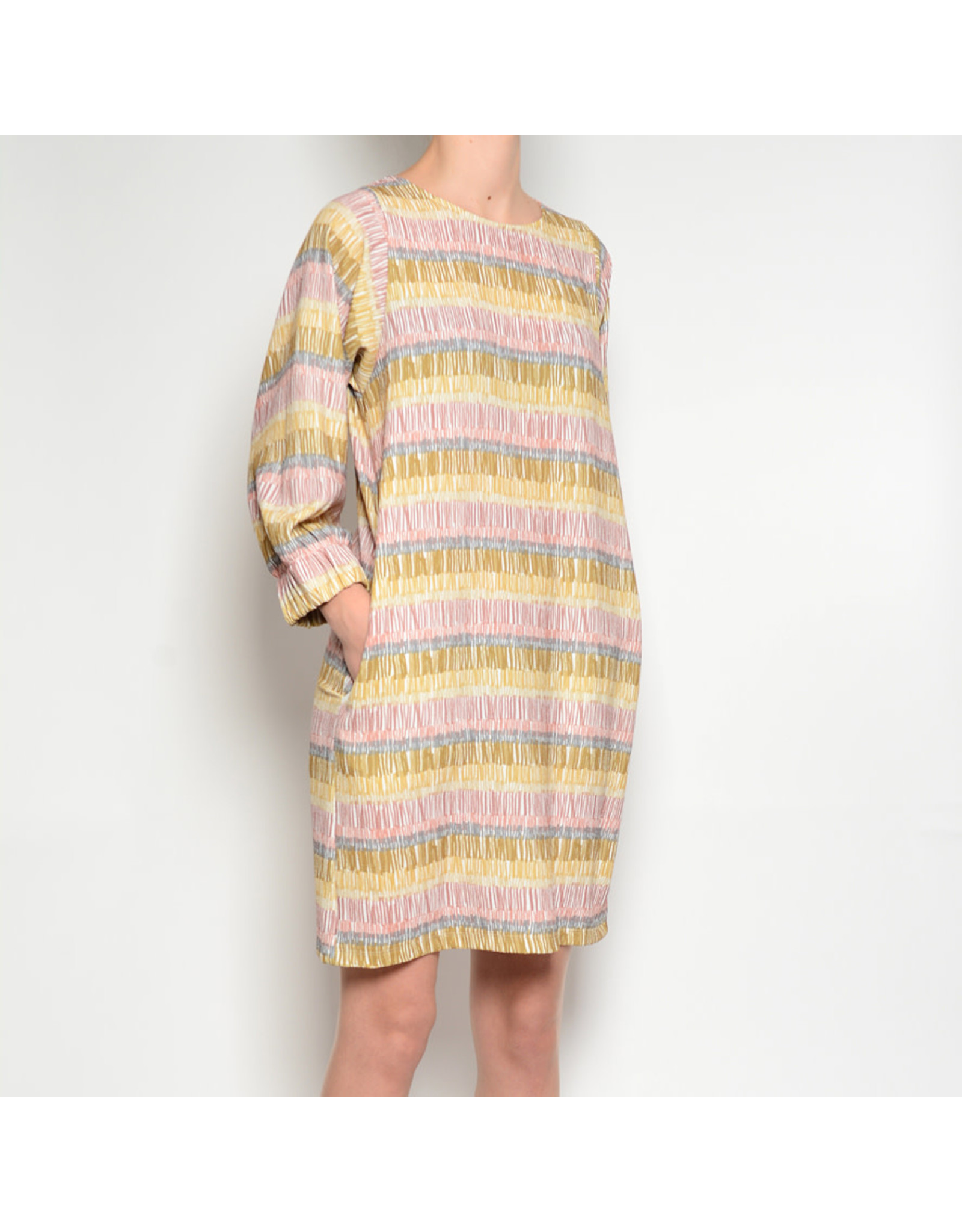 Pan Pan Multi Print Dress