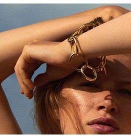 Pilgrim Pilgrim Air Bracelet Gold Plated
